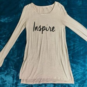 Striped 'Inspire' Long Sleeve